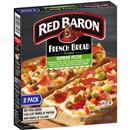 Red Baron Singles French Bread Supreme Pizzas 2Ct