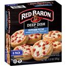 Red Baron Minis Deep Dish Pepperoni Pizza 8 ct