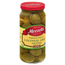 Mezzetta Green Olives, Whole Fancy, Colossal