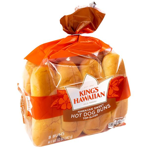 King S Hawaiian Sweet Hot Dog Buns 8ct Hy Vee Aisles Online Grocery Shopping