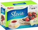 Hy-Vee Stevia Natural No Calorie Sweetener, 40Ct