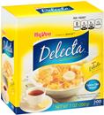 Hy-Vee Delecta No Calorie Sweetener 200Ct Packets