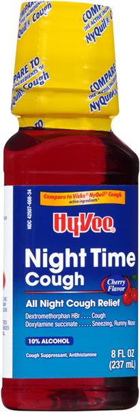 Night time cough suppressant