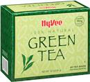 Hy-Vee Green Tea Bags 40 Count