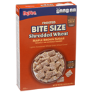 Hy-Vee One Step Frosted Bite Size Shredded Wheat Maple & Brown Sugar Cereal