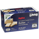 Hy-Vee Unsalted Sweet Butter Quarters