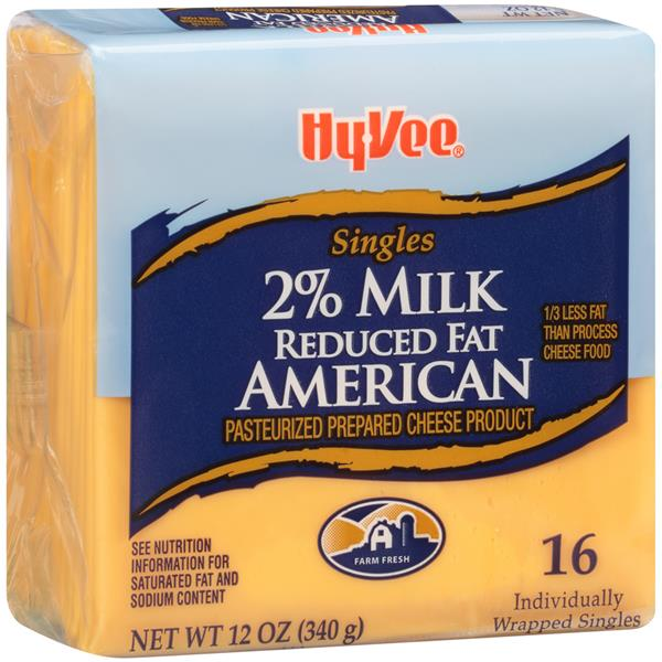 Hy-Vee Singles Reduced Fat 2% Milk American Pasteurized ...