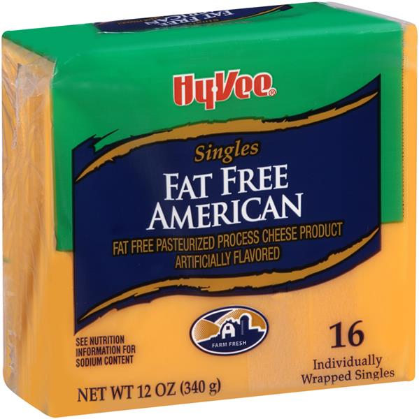 Low fat american cheese
