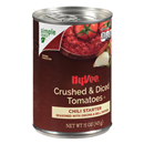 Hy-Vee Chili Starter, Crushed & Diced Tomatoes