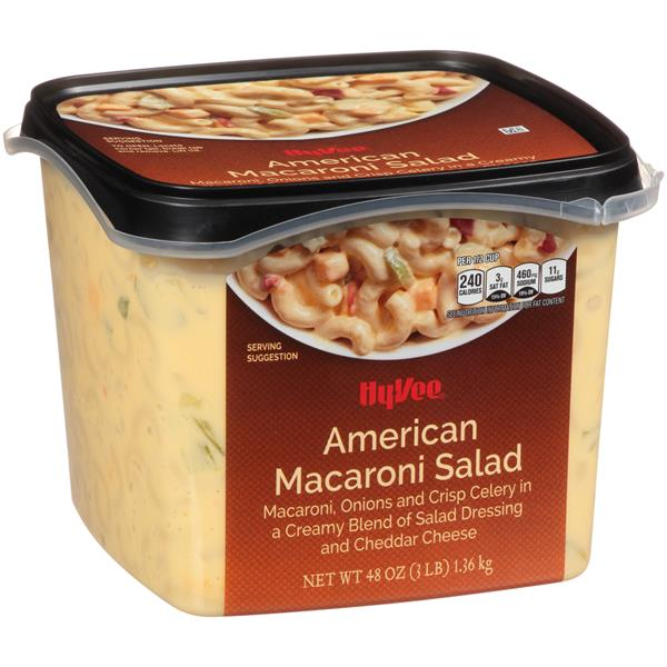 Hy Vee Homestyle Recipe American Macaroni Salad Hy Vee Aisles Online Grocery Shopping