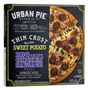 Urbank Pie Thin Crust Made with Sweet Potato, BBQ Recipe Chicken Sausage Pizza