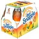 Diet Snapple Takes 2 to Mango Tea, 6 Pack