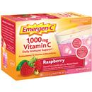Emergen-C Dietary Supplement in Raspberry Flavor 30Ct