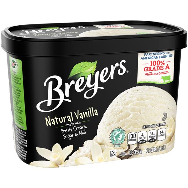 Breyers Natural Vanilla Ice Cream
