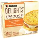 Jimmy Dean Delights Eggwich Broccoli & Cheese Egg Frittatas with Chicken Sausage & Cheese 4Ct