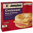 Jimmy Dean Ham & Cheese Croissant Sandwiches 4Ct