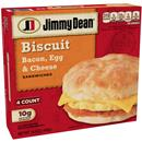 Jimmy Dean Biscuit Sandwiches Bacon, Egg, & Cheese 4Ct