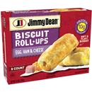 Jimmy Dean Egg, Ham & Cheese Biscuit Rollups 8Ct