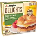 Jimmy Dean Delights Croissant Sandwiches Turkey Sausage Egg White & Cheese 4Ct