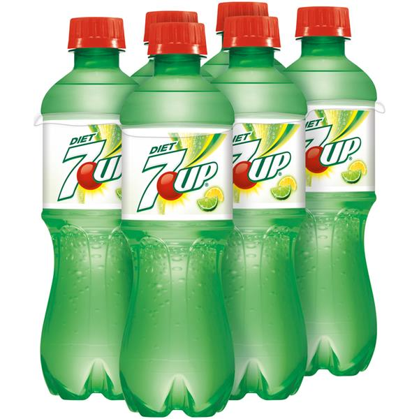 7up Diet Soda 6 Pack Hy Vee Aisles Online Grocery Shopping