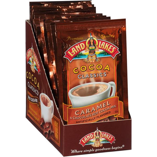 Land O'Lakes Cocoa Classics Caramel & Chocolate Hot Cocoa Mix