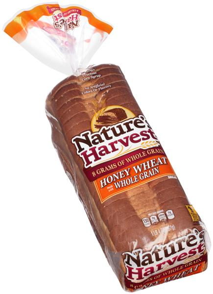 Nature's Harvest Whole Grain Honey Wheat Bread | Hy-Vee ...