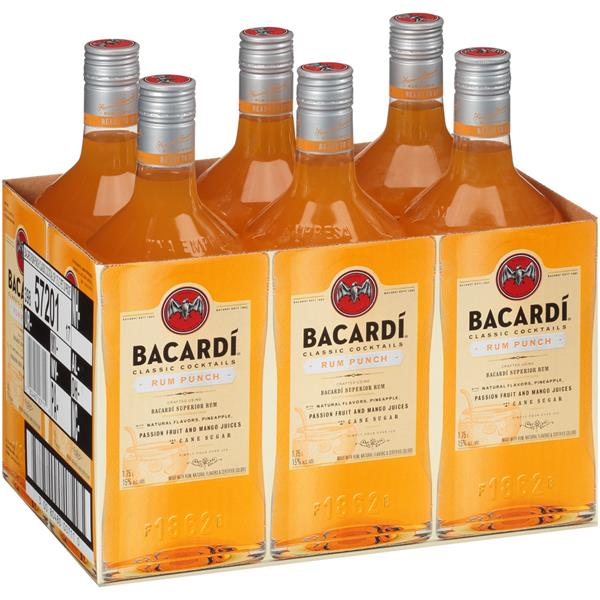 Bacardi Cocktail Rum Punch