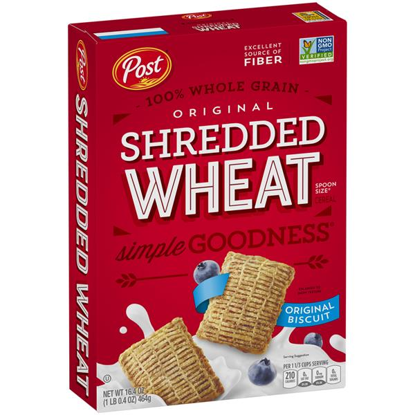 Post Shredded Wheat Spoon Size Original Cereal