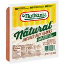 Nathan&#39s Famous All Natural Uncured Beef Franks
