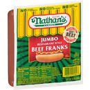 Nathan's Famous Jumbo Restaurant Style Beef Franks