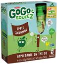 GoGo Squeez Applesauce On the Go Apple Cinnamon 4Pk