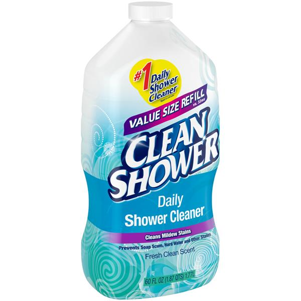 clean shower daily shower cleaner fresh clean scent refill hyvee aisles online grocery shopping