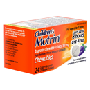 Children's Motrin Dye-Free Grape-Flavored Chewable Tablets
