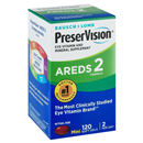 PreserVision Eye Vitamin & Mineral Supplement Areds 2 Formula Softgels