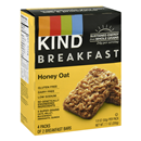 KIND Breakfast Honey Oat Bars 4-1.8 oz Packs