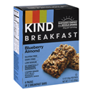 KIND Breakfast Blueberry Almond Bars 4-1.8 oz Packs