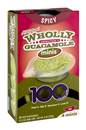Wholly Spicy Guacamole 100 Calorie Mini Cups