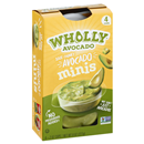 Wholly Chunky Avocado Minis Mild 4-2 oz Cups