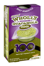 Wholly Guacamole Spicy Homestyle Guacamole Minis 4Ct Mini Cups