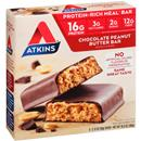Atkins Advantage Chocolate Peanut Butter Bar 5-2.12 oz Bars