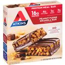 Atkins Peanut Fudge Granola Meal Bars 5-1.69 oz Bars