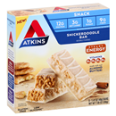 Atkins Snickerdoodle Snack Bars 5-1.41 oz Bars