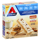 Atkins Honey Almond Greek Yogurt Snack Bars 5 -1.69 oz Bars