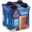 Atkins Plus Protein & Fiber Creamy Milk Chocolate Protein-Packed Shakes 4Pk