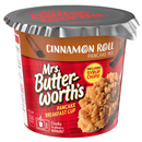 Mrs Butterworth's Pancake Breakfast Cup, Cinnamon Roll