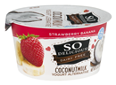 So Delicious Dairy Free Coconut Milk Strawberry Banana Yogurt Alternative