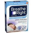 Breathe Right Nasal Strips Clear Sm/Med