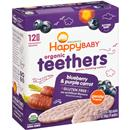 HappyBaby Organic Teethers Blueberry & Purple Carrot