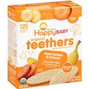 Happy Baby Organic Sweet Potato & Banana Gentle Teething Wafers