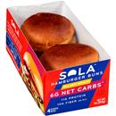 Sola Golden Wheat Hamburger Buns 4Ct